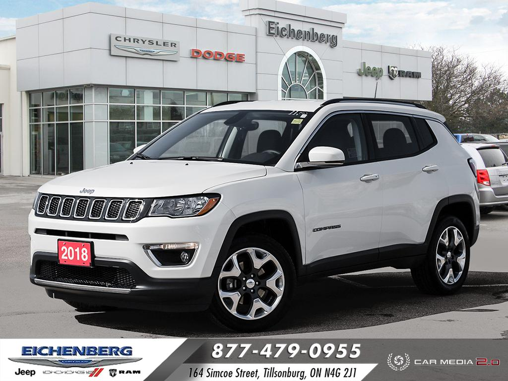 used 2018 Jeep Compass car, priced at $25,999
