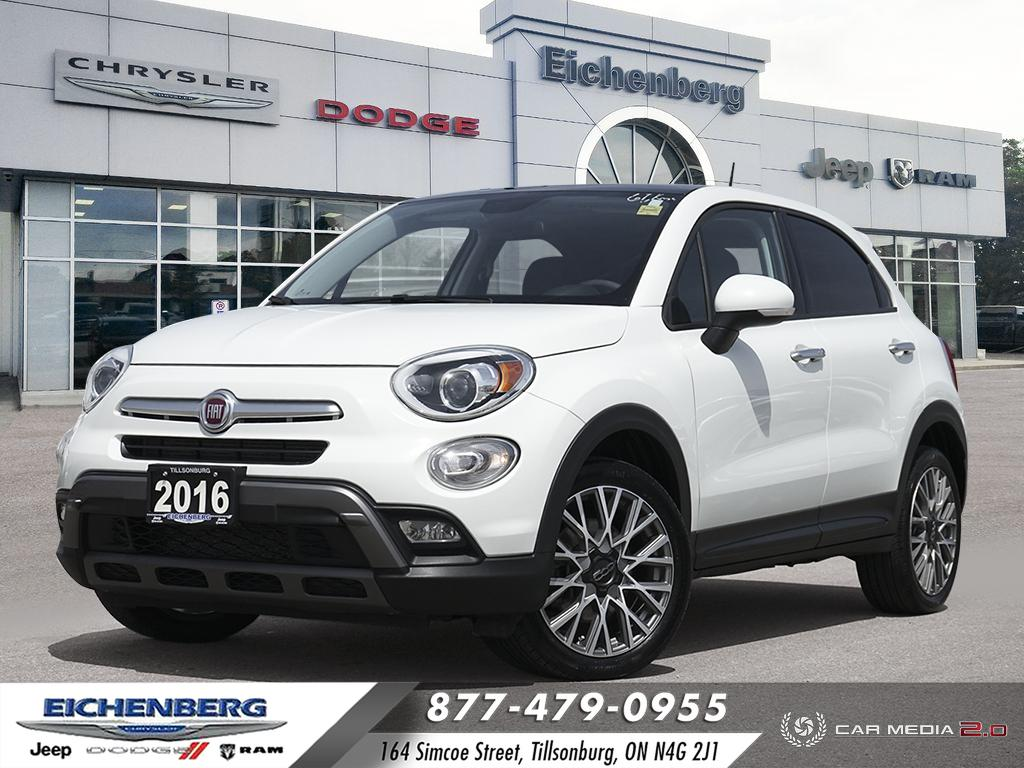 used 2016 FIAT 500X car, priced at $18,499