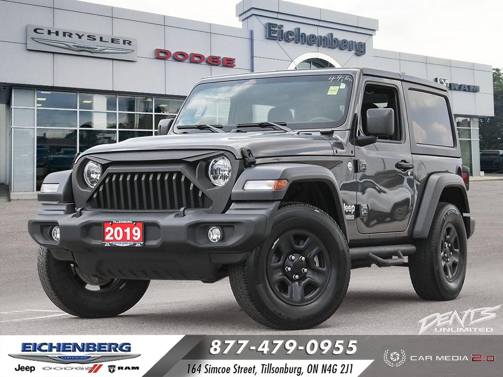 used 2019 Jeep All-New Wrangler car, priced at $37,999