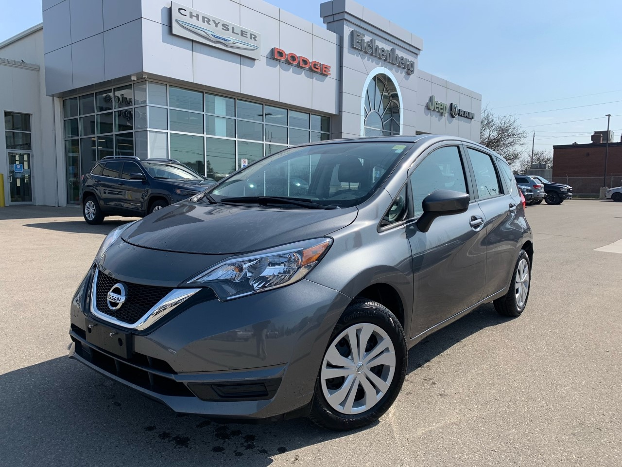 used 2018 Nissan Versa Note car, priced at $12,999