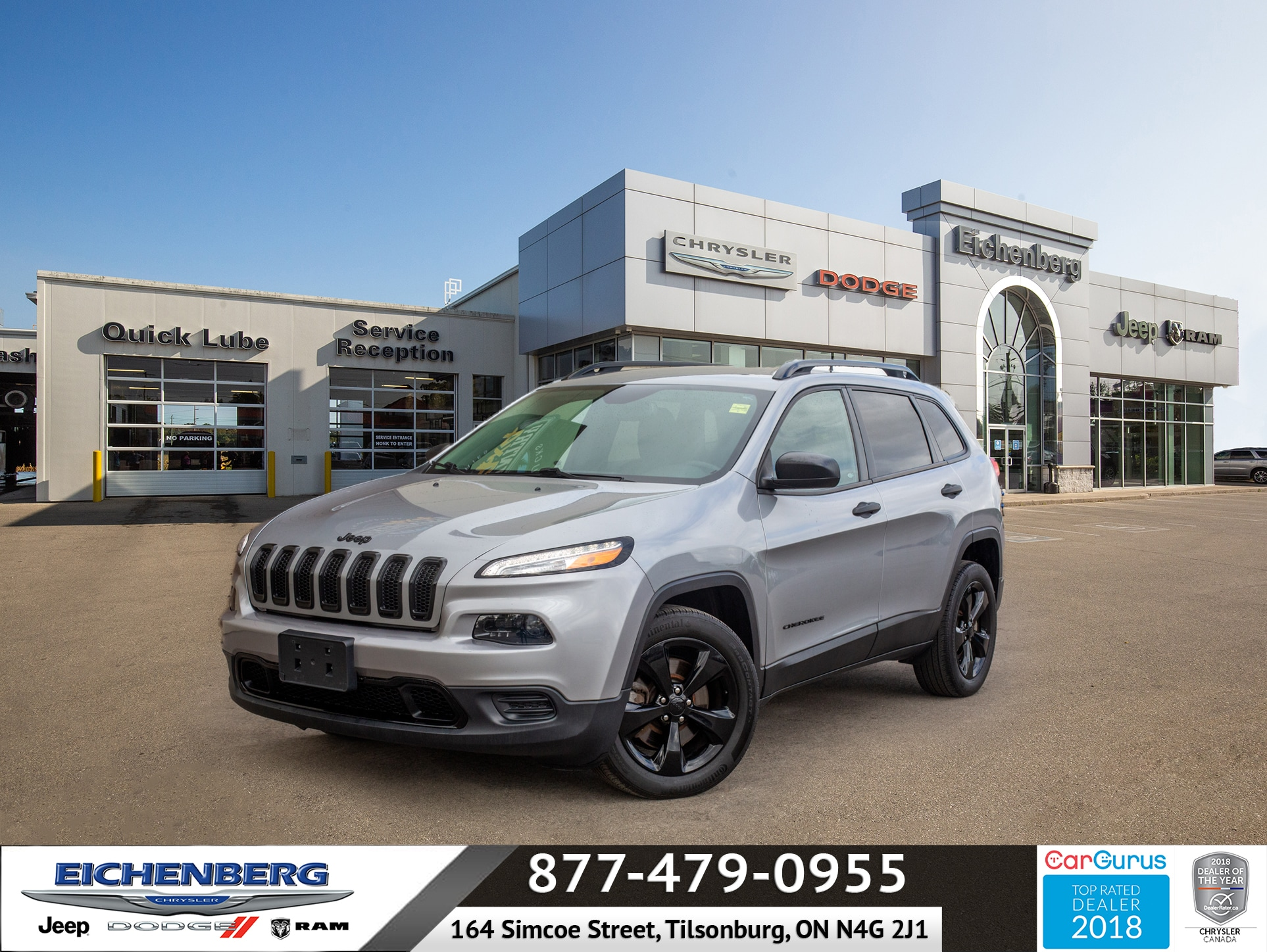 used 2016 Jeep Cherokee car, priced at $18,999