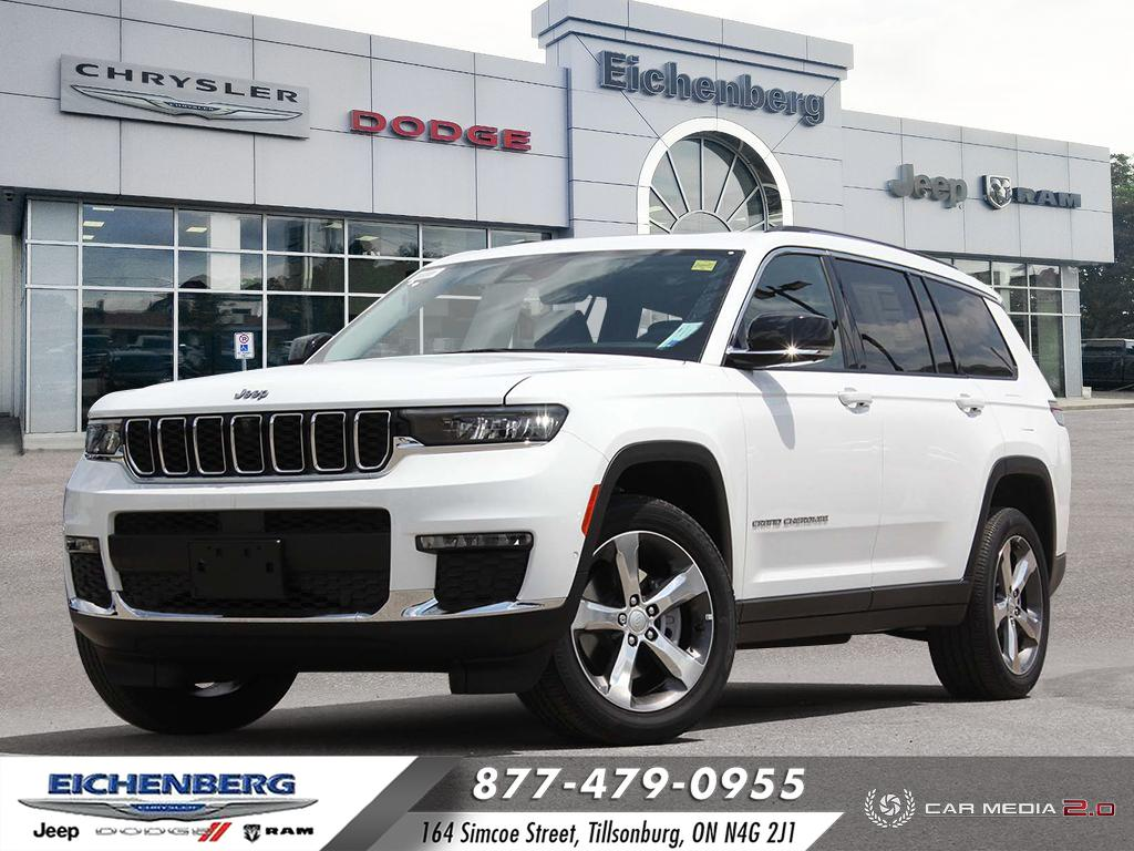 used 2021 Jeep All-New Grand Cherokee L car, priced at $66,799