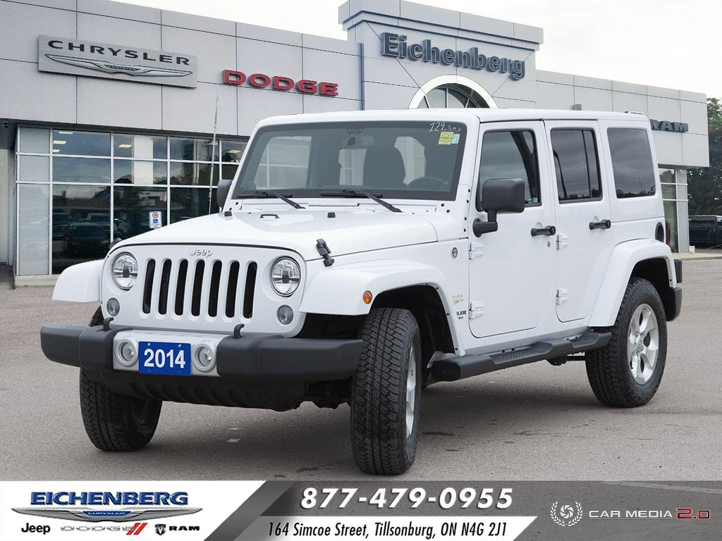 used 2014 Jeep Wrangler car, priced at $29,999