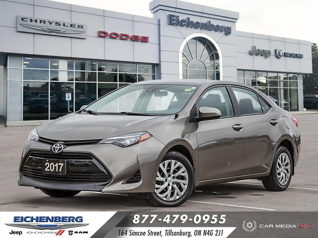 used 2017 Toyota Corolla car, priced at $14,799