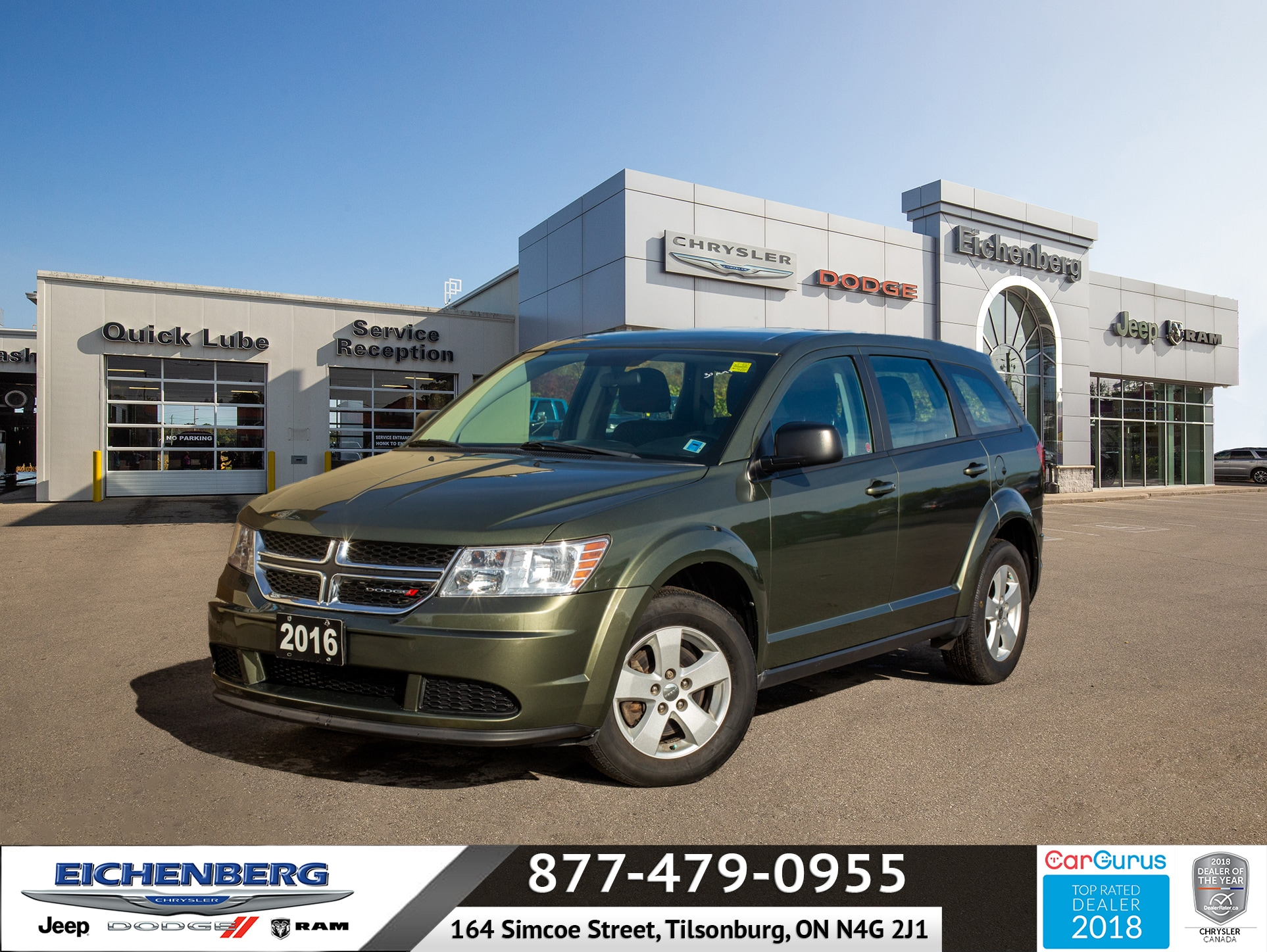 used 2016 Dodge Journey car, priced at $14,899