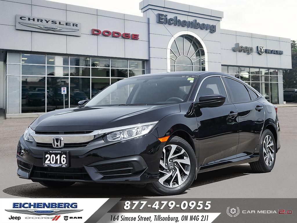 used 2016 Honda Civic car, priced at $16,799