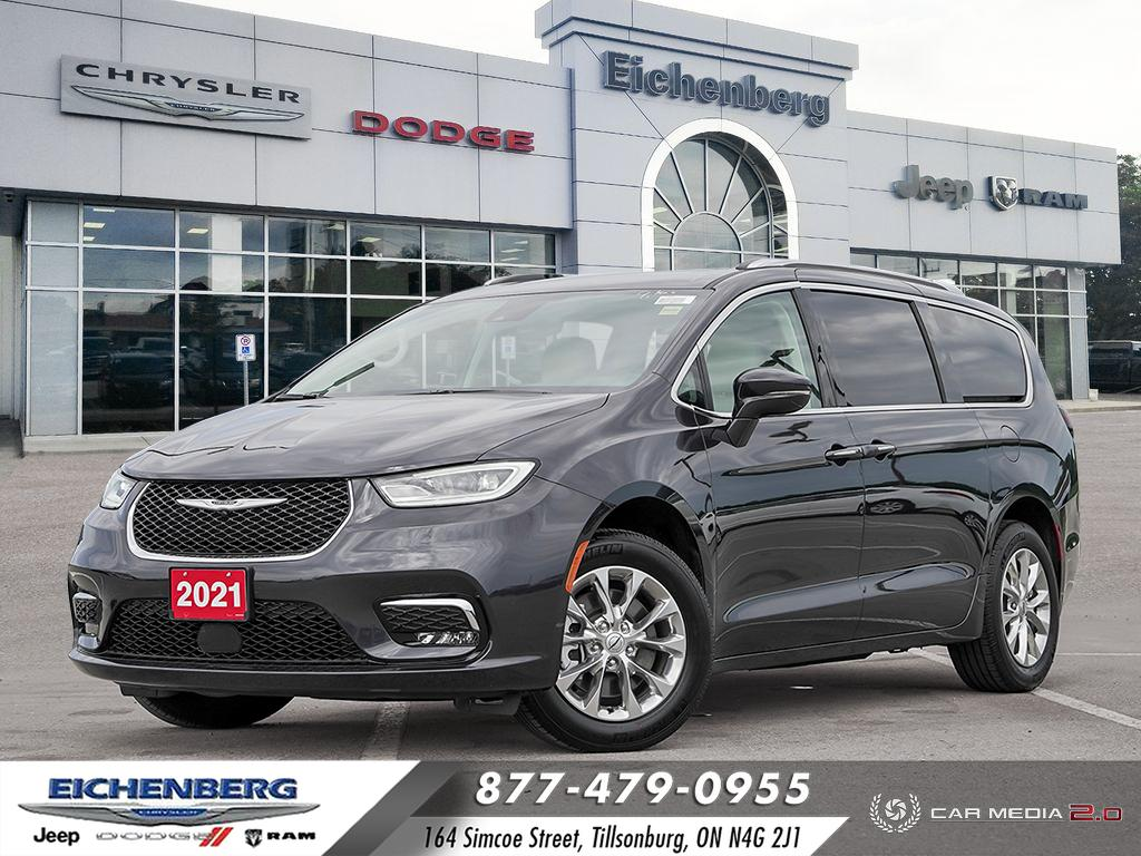used 2021 Chrysler Pacifica car, priced at $47,899