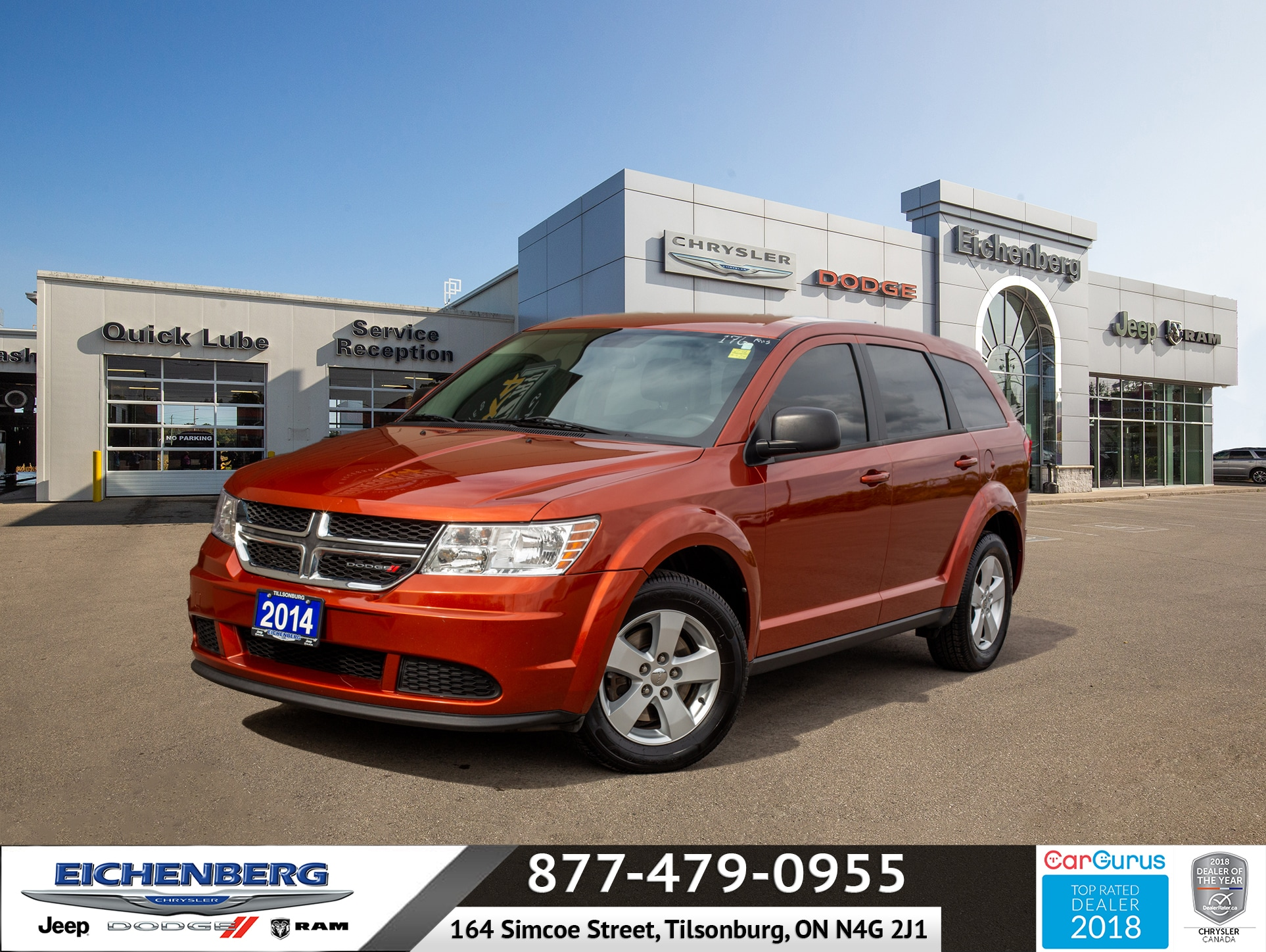 used 2014 Dodge Journey car, priced at $7,499