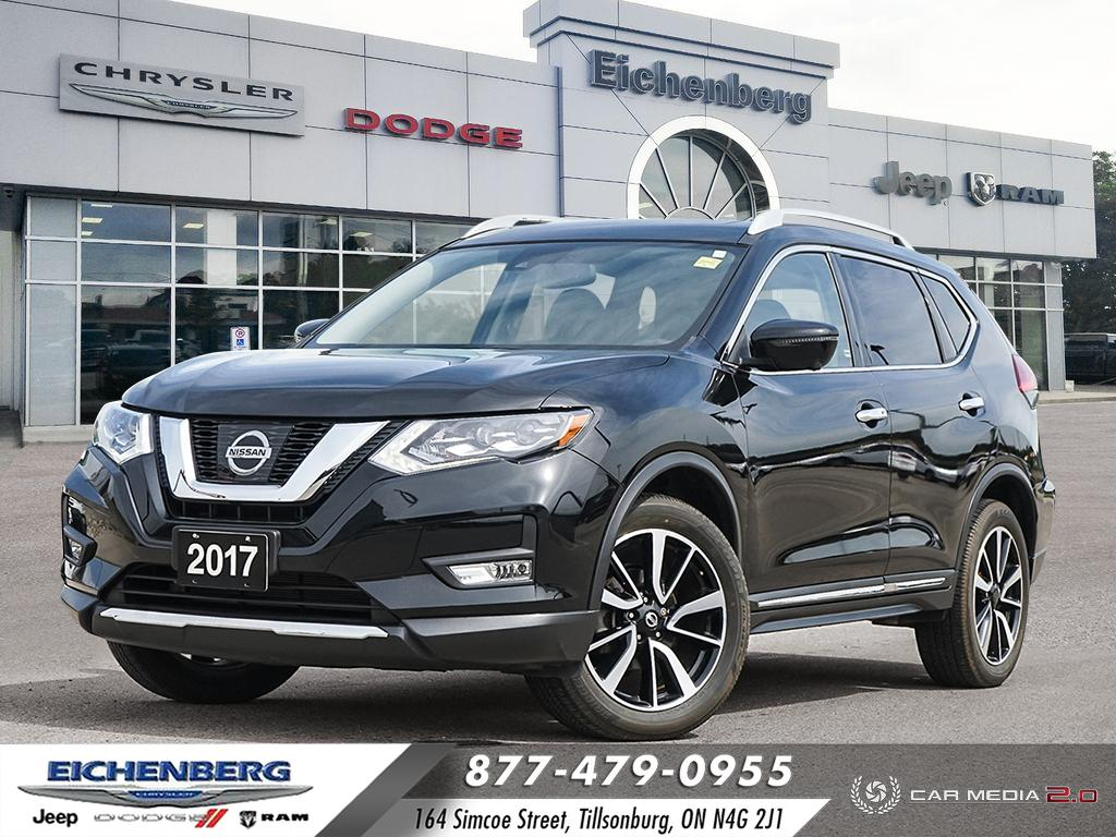 used 2017 Nissan Rogue car, priced at $23,500