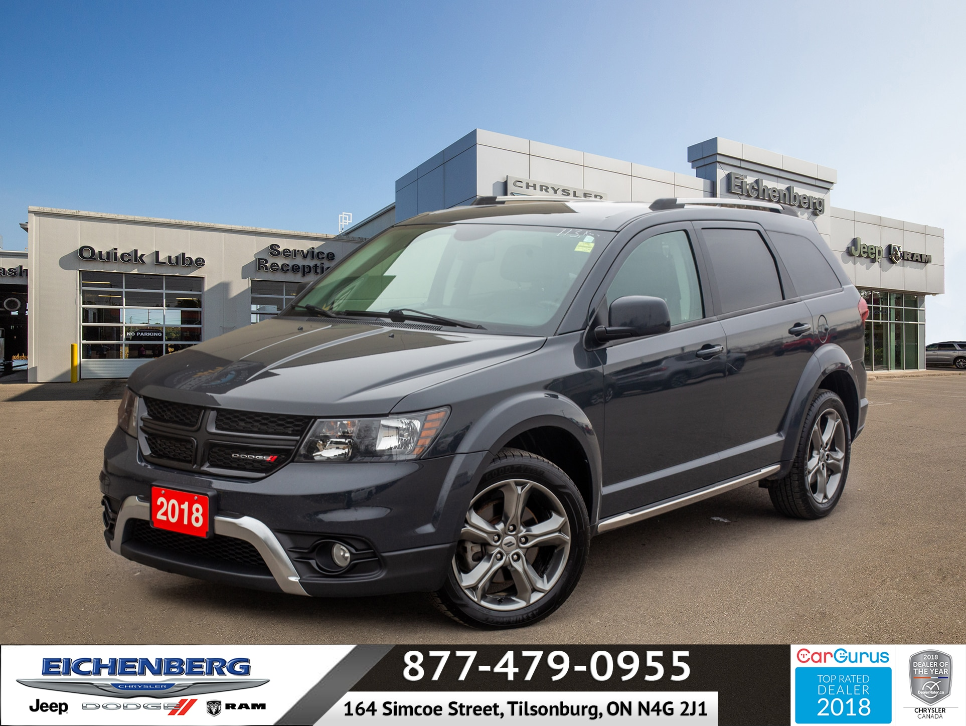 used 2018 Dodge Journey car, priced at $20,999
