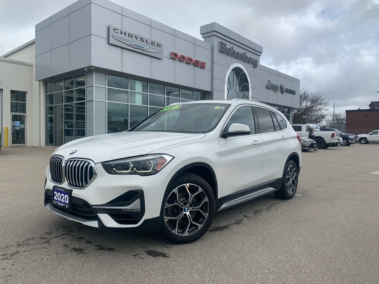 used 2020 BMW X1 car, priced at $35,699