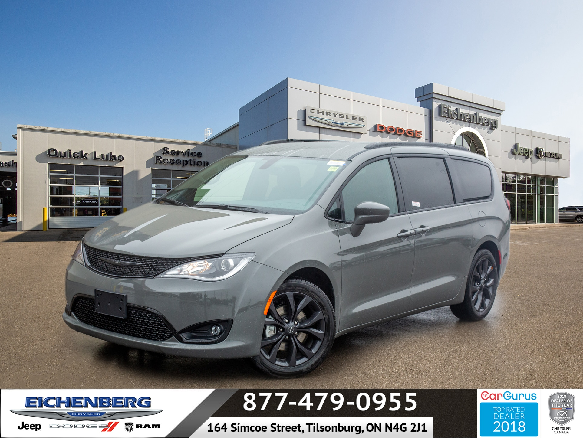 new 2020 Chrysler Pacifica car, priced at $41,999