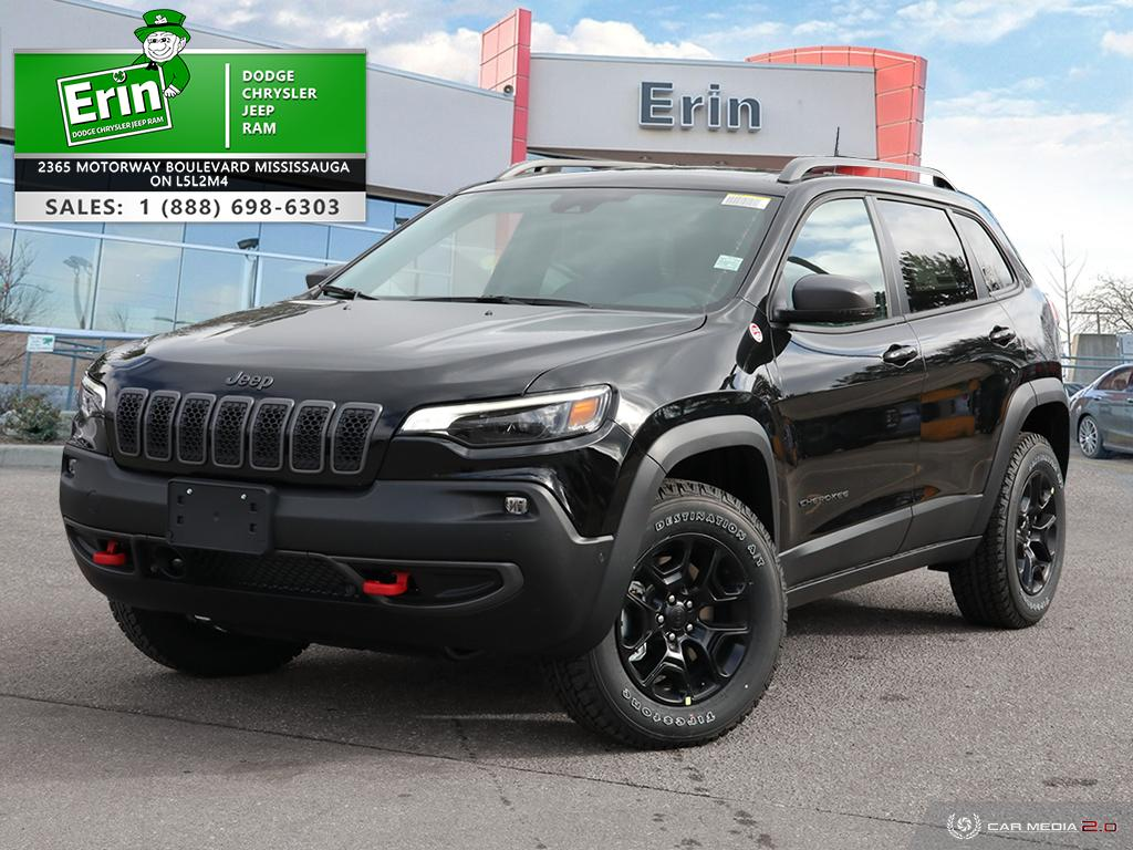 new 2021 Jeep Cherokee car, priced at $46,448