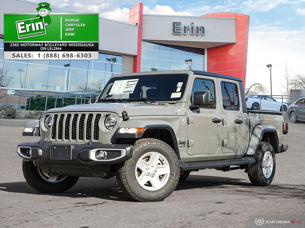 used 2021 Jeep Gladiator car, priced at $59,574