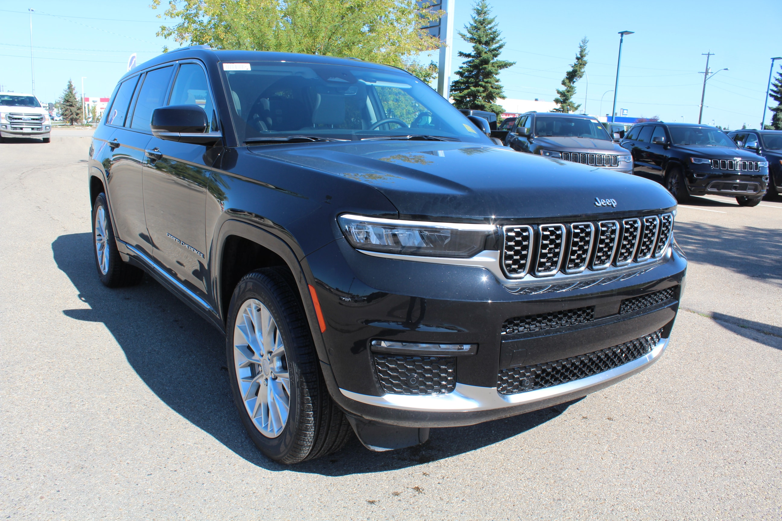 new 2021 Jeep All-New Grand Cherokee L car, priced at $79,675