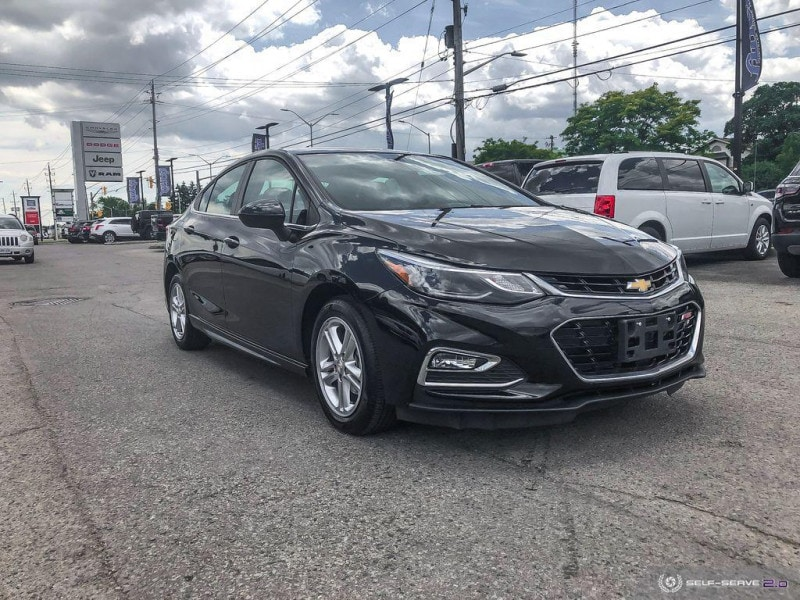 used 2018 Chevrolet Cruze car, priced at $16,488