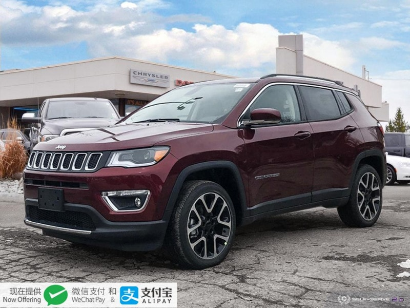 new 2020 Jeep Compass car, priced at $44,960