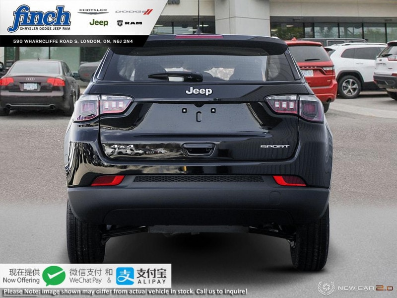 new 2020 Jeep Compass car, priced at $35,555