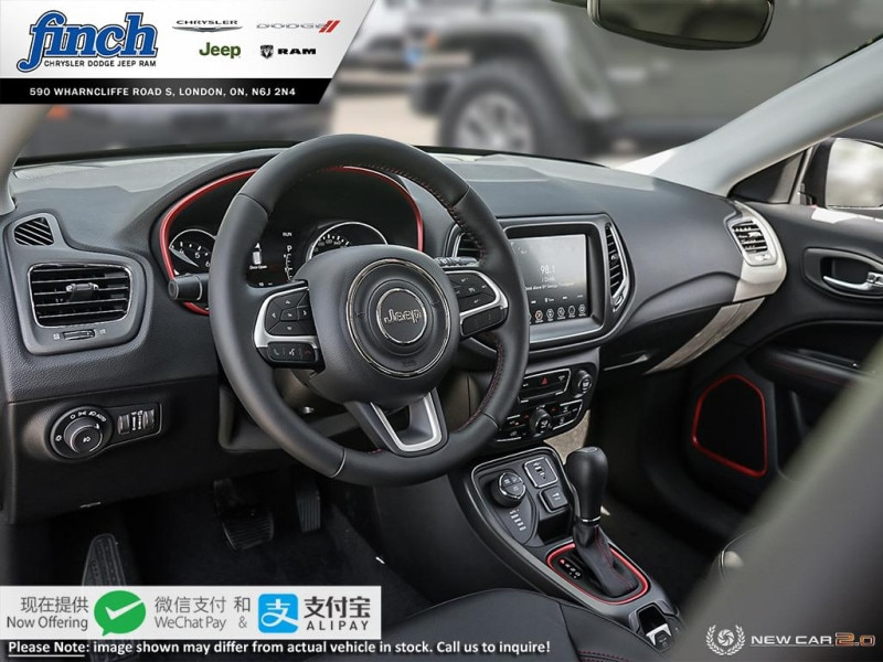 new 2020 Jeep Compass car, priced at $40,675