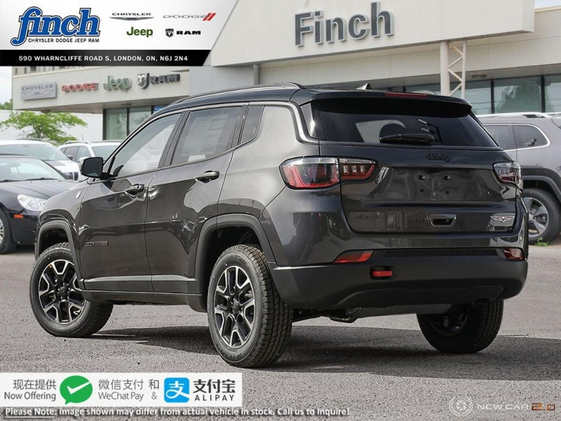 new 2020 Jeep Compass car, priced at $42,835