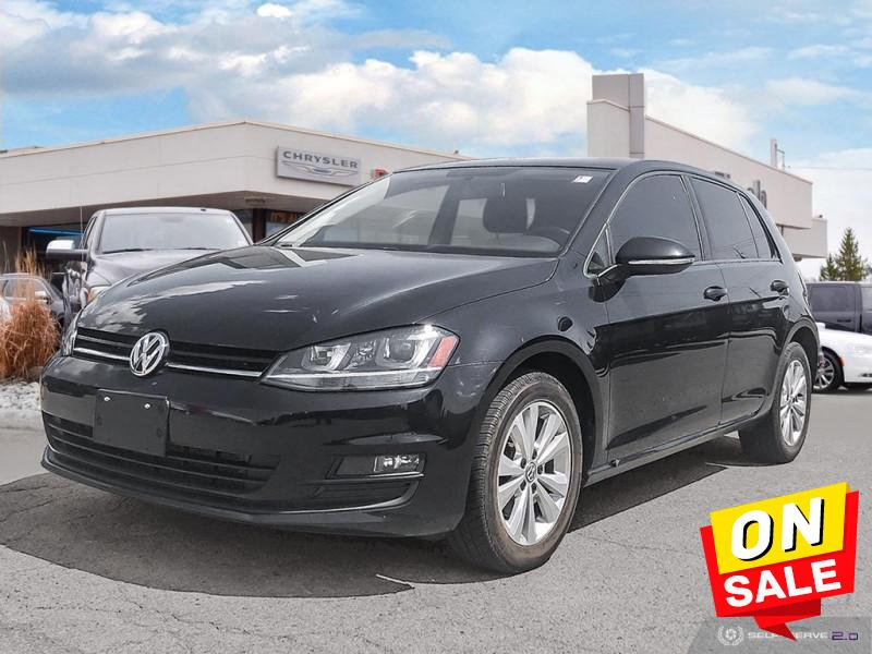 used 2015 Volkswagen Golf car, priced at $11,988