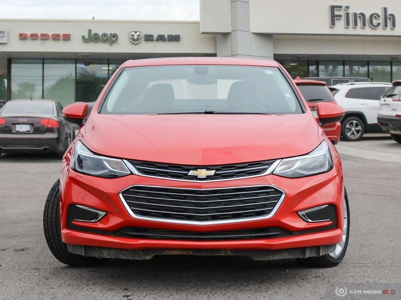 used 2018 Chevrolet Cruze car, priced at $15,488