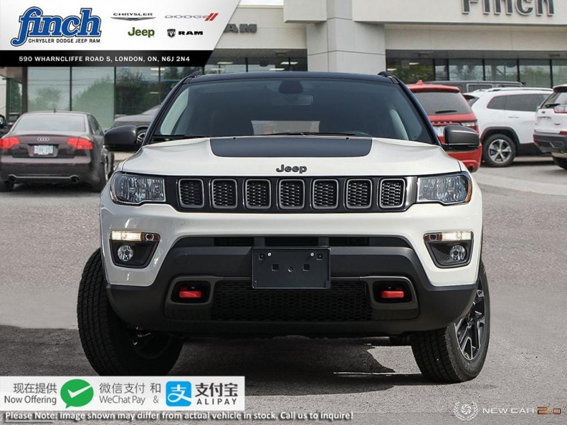 new 2020 Jeep Compass car, priced at $40,105
