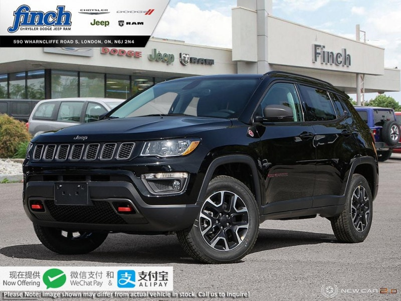new 2020 Jeep Compass car, priced at $37,265