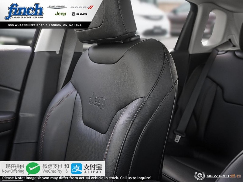 new 2020 Jeep Compass car, priced at $45,135