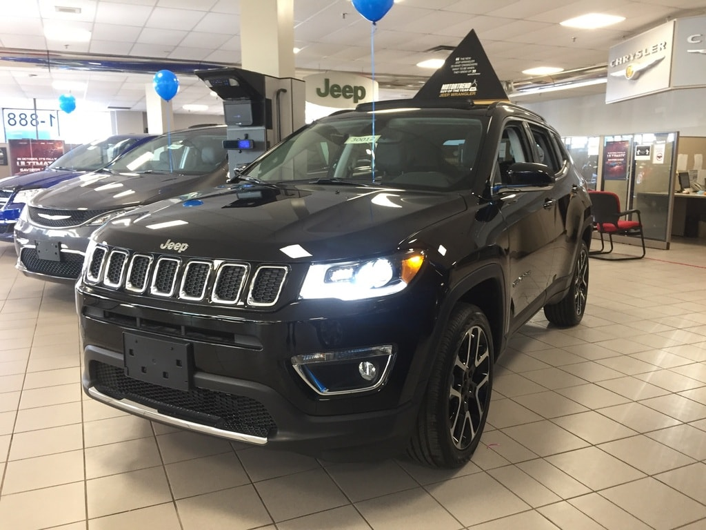 new 2021 Jeep Compass car, priced at $43,368
