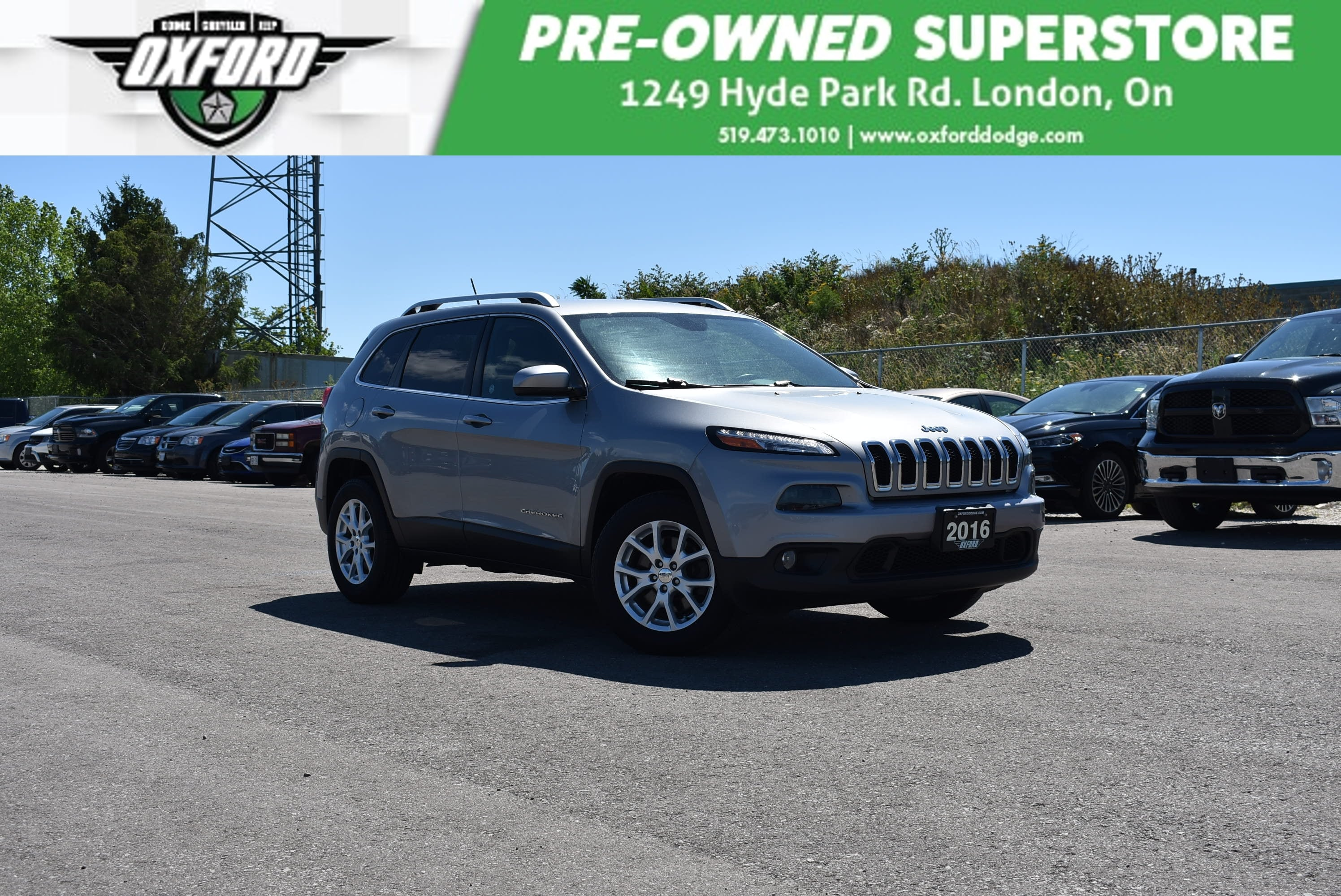 used 2015 Jeep Cherokee car, priced at $16,498