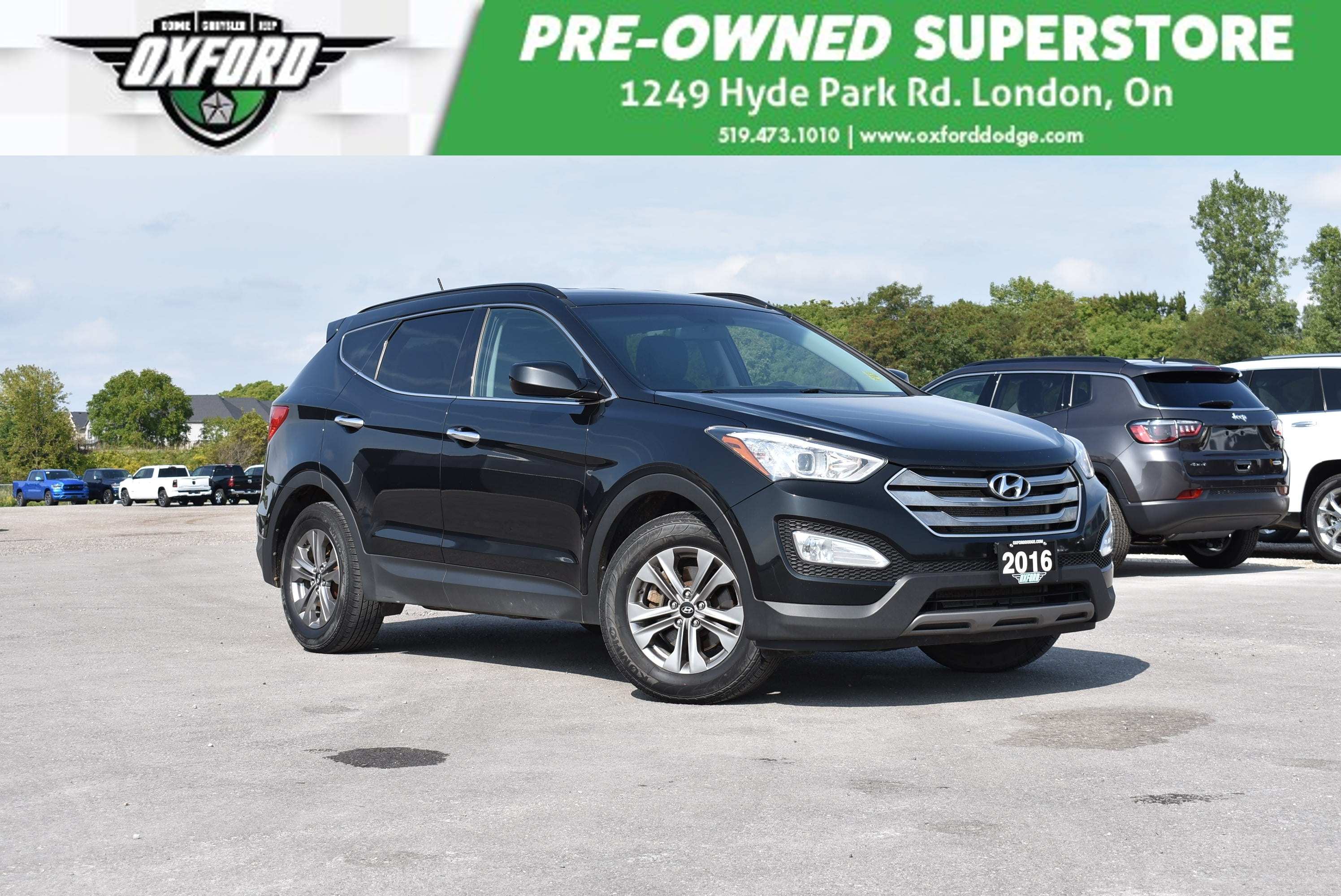 used 2016 Hyundai Santa Fe Sport car, priced at $14,988