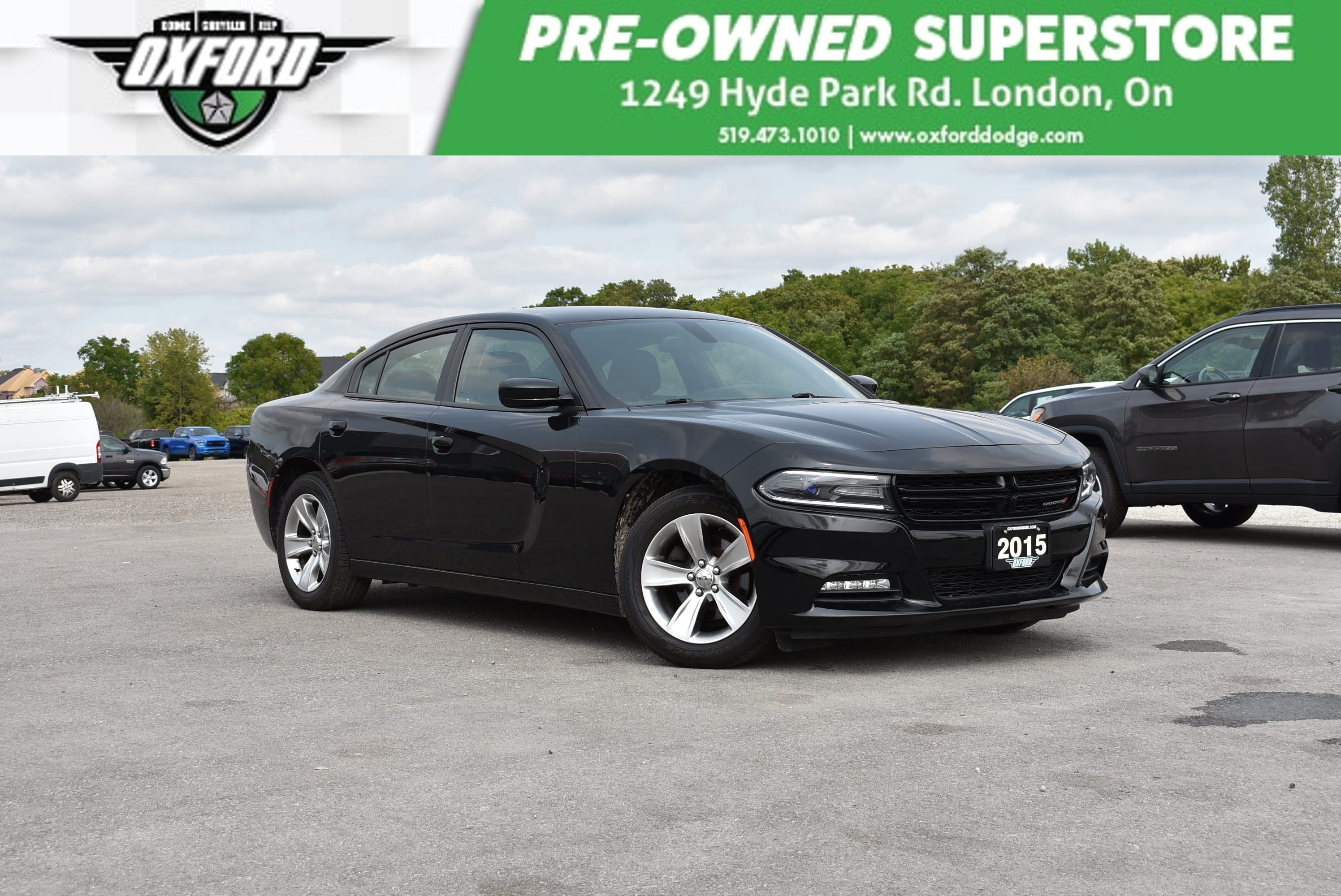 used 2015 Dodge Charger car, priced at $17,988