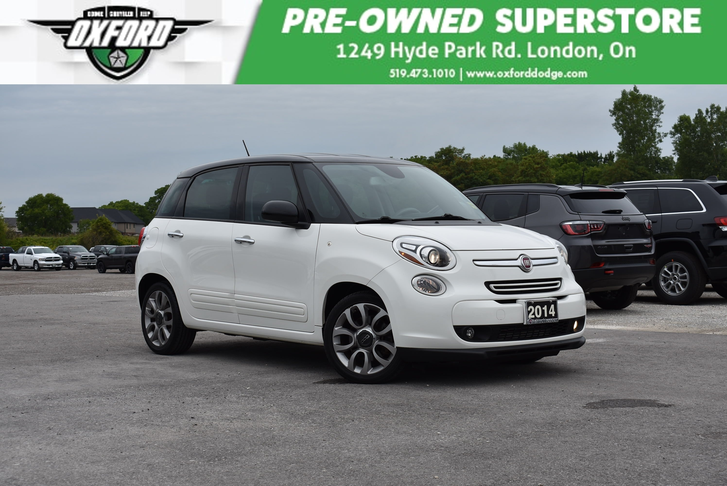 used 2014 FIAT 500L car, priced at $13,988