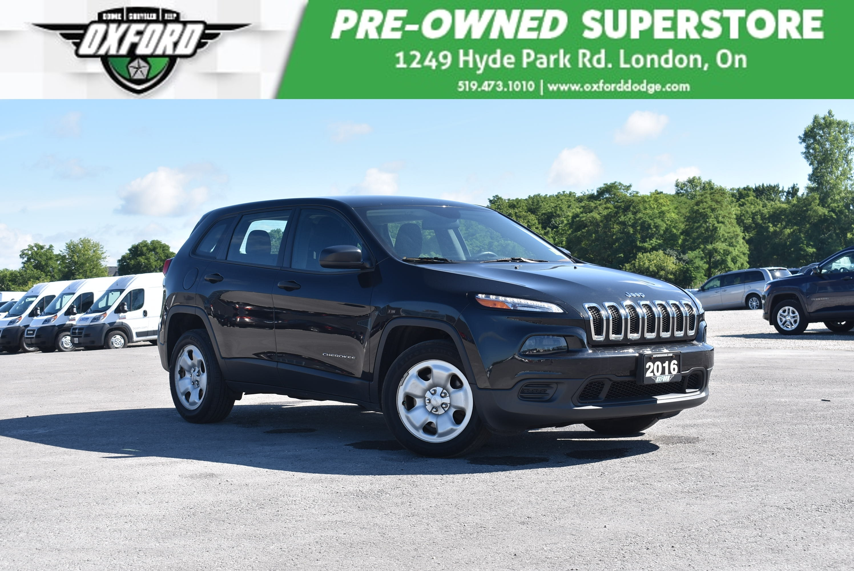 used 2016 Jeep Cherokee car, priced at $17,988