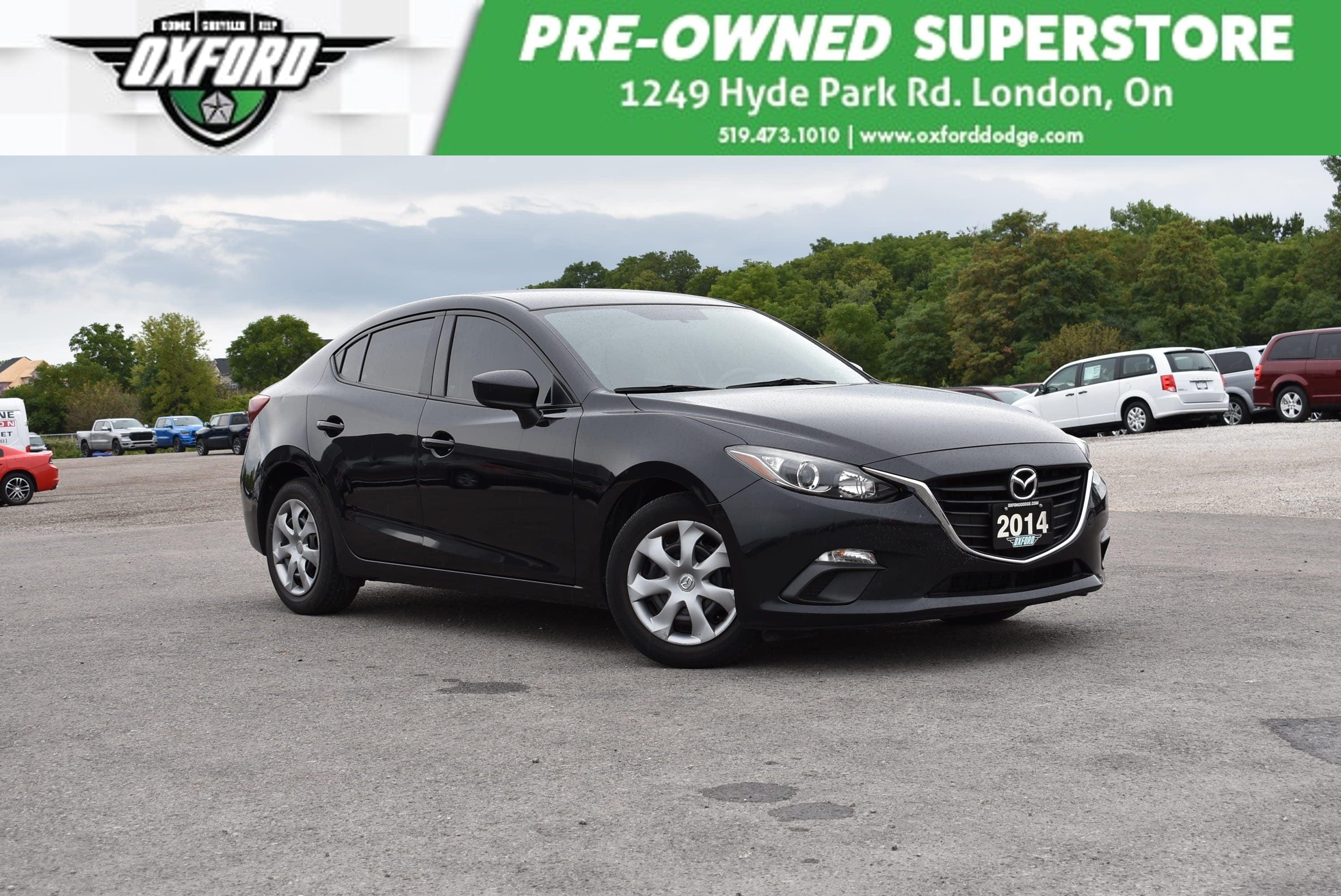 used 2014 Mazda Mazda3 car, priced at $10,988