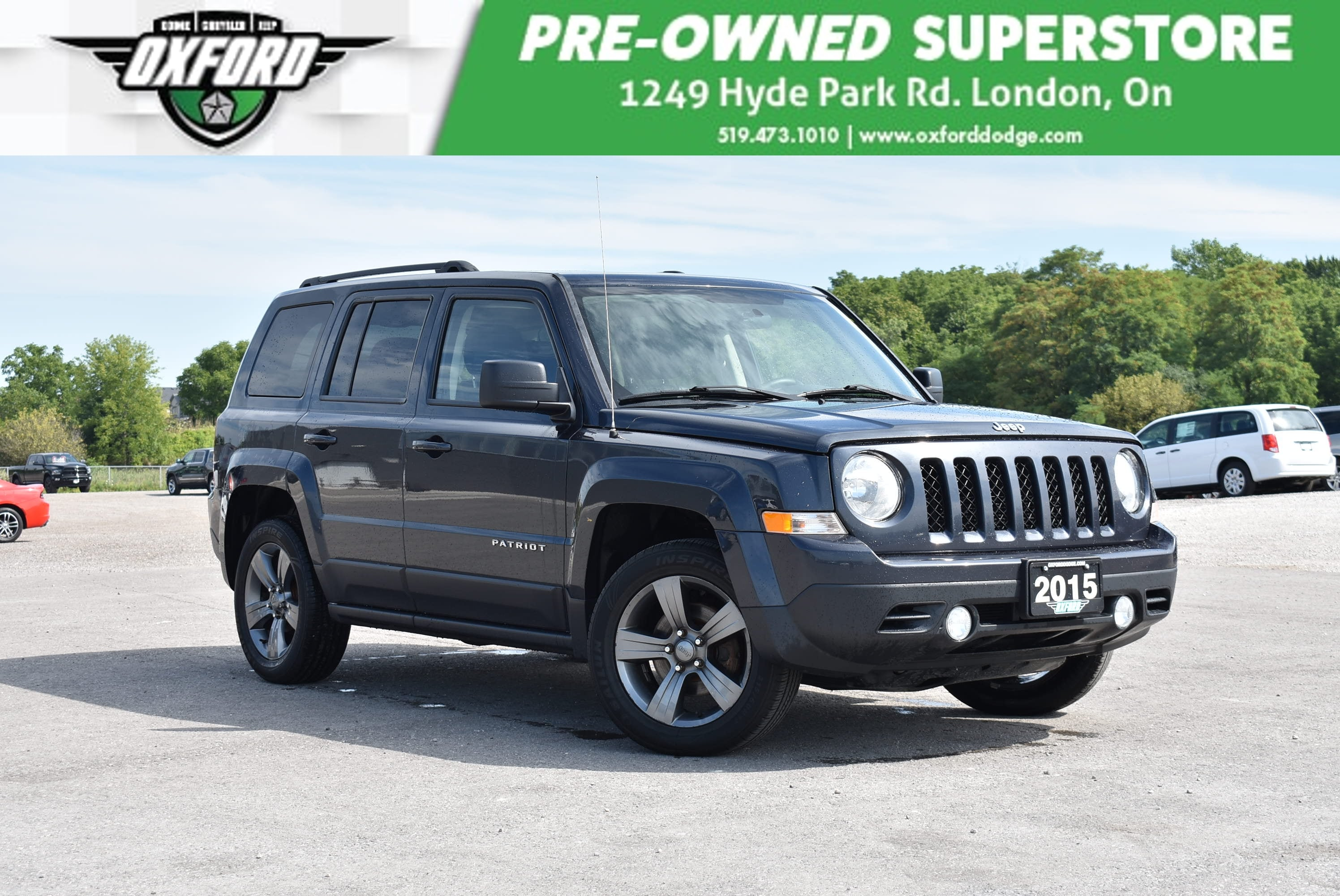 used 2015 Jeep Patriot car, priced at $11,988