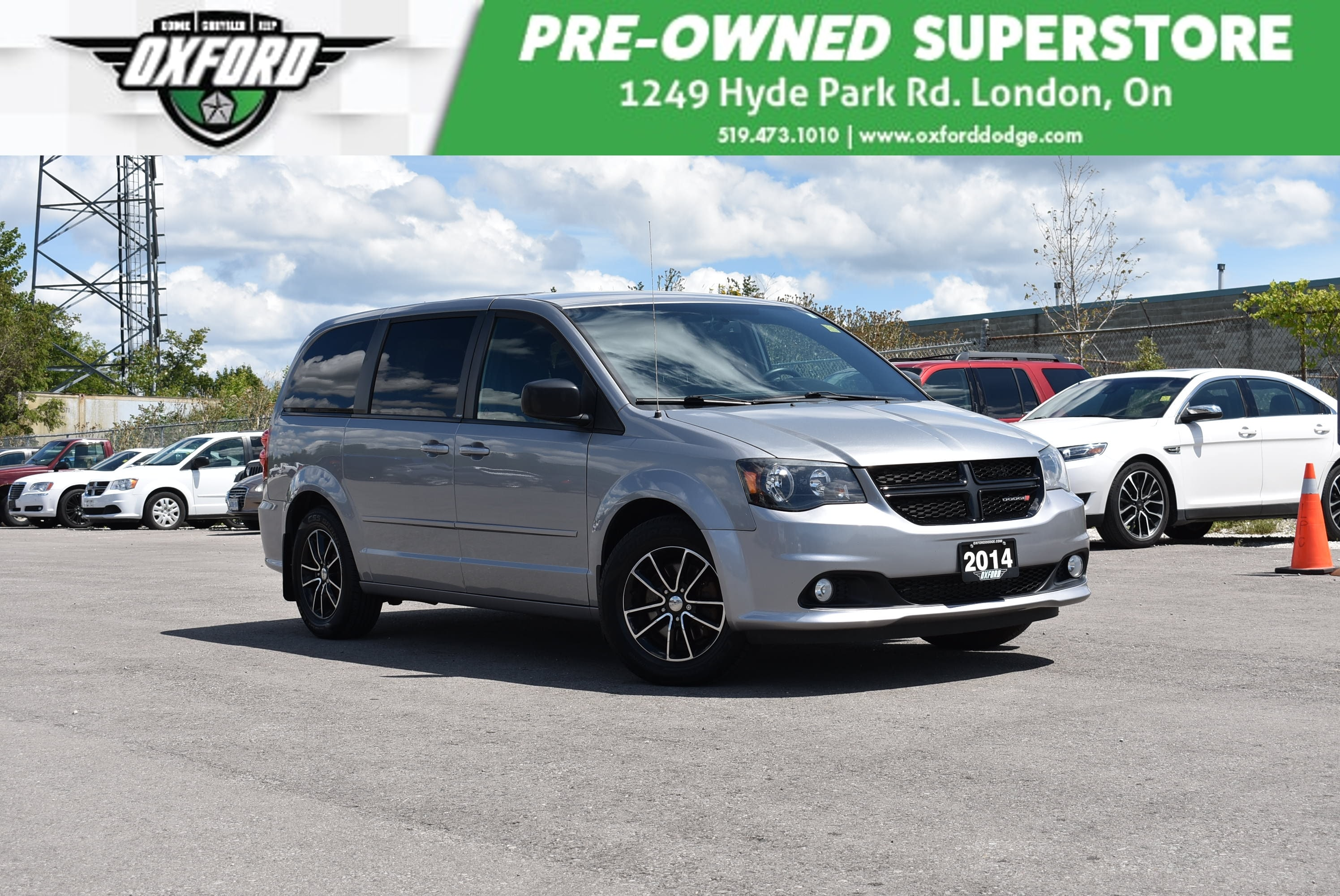 used 2014 Dodge Grand Caravan car, priced at $15,888