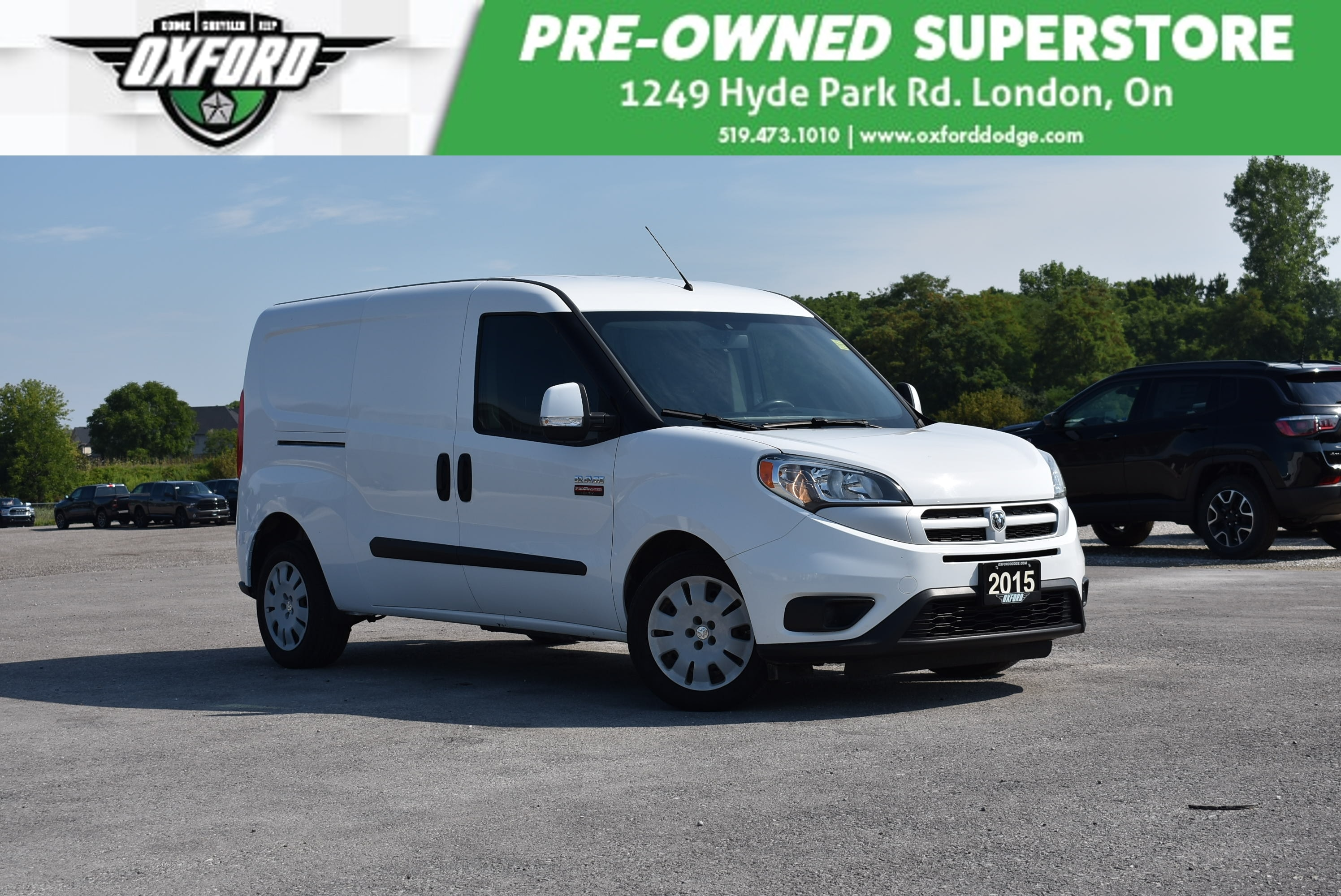 used 2015 Ram ProMaster City car, priced at $16,988
