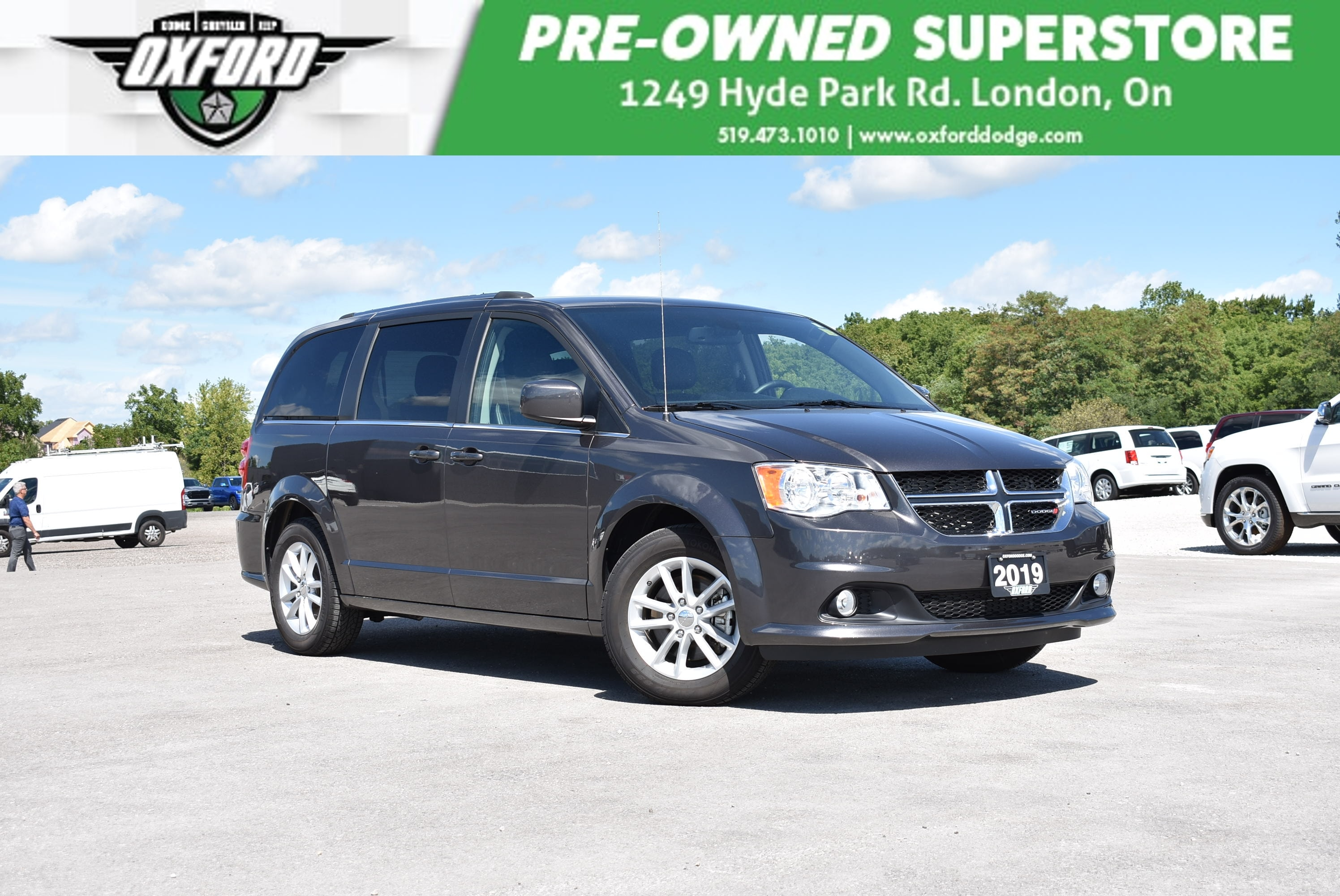 used 2019 Dodge Grand Caravan car, priced at $29,988