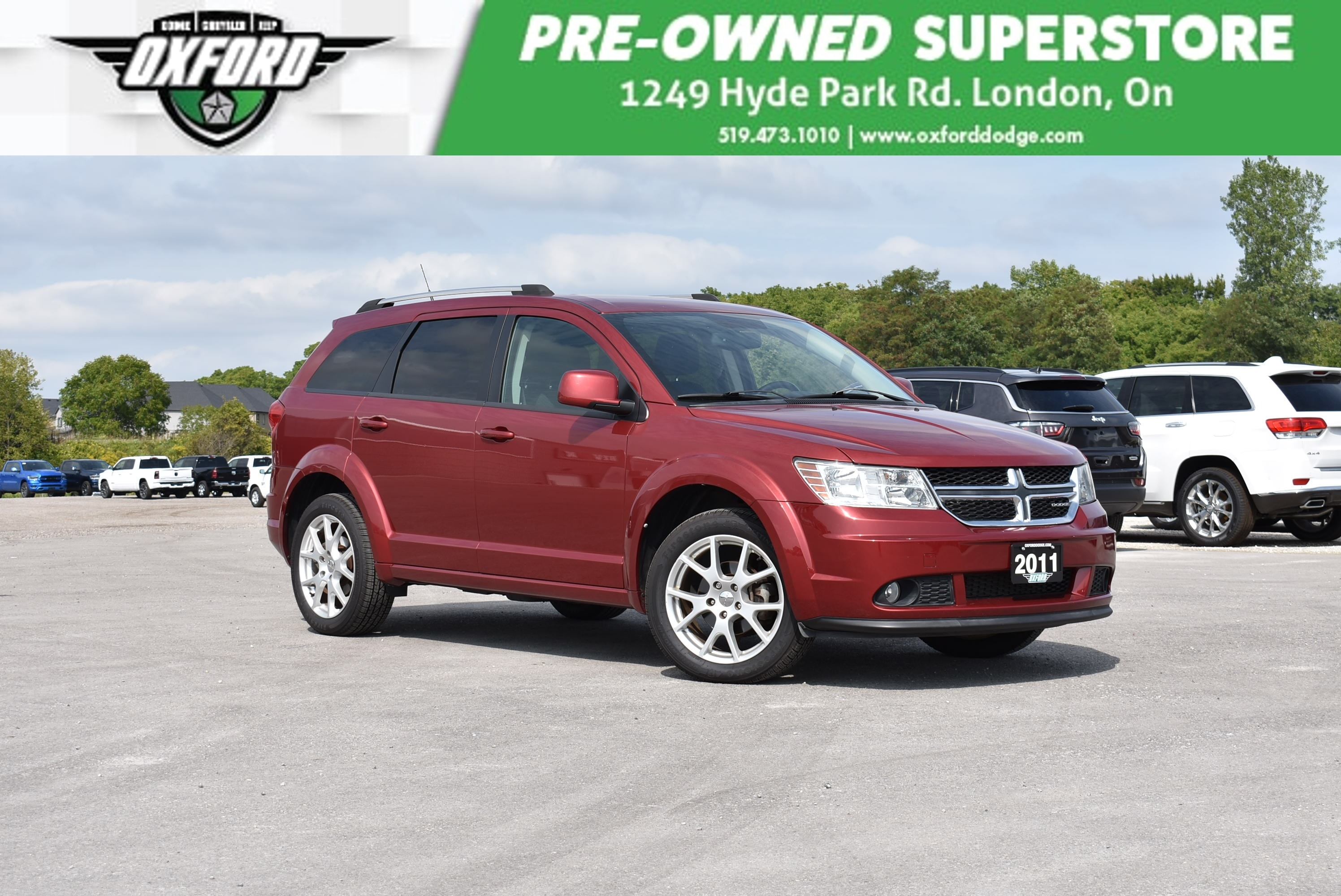 used 2011 Dodge Journey car, priced at $13,988