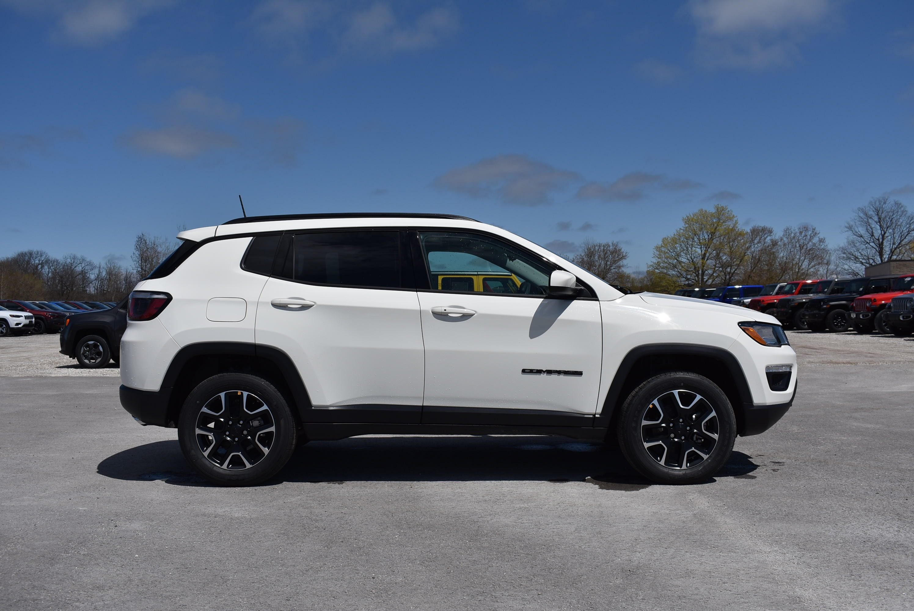 new 2020 Jeep Compass car, priced at $36,175