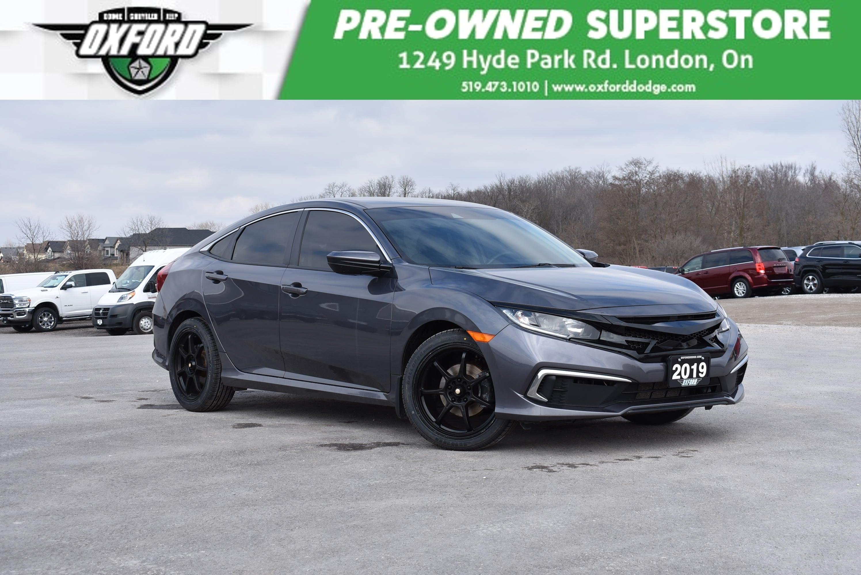 used 2019 Honda Civic car, priced at $18,988