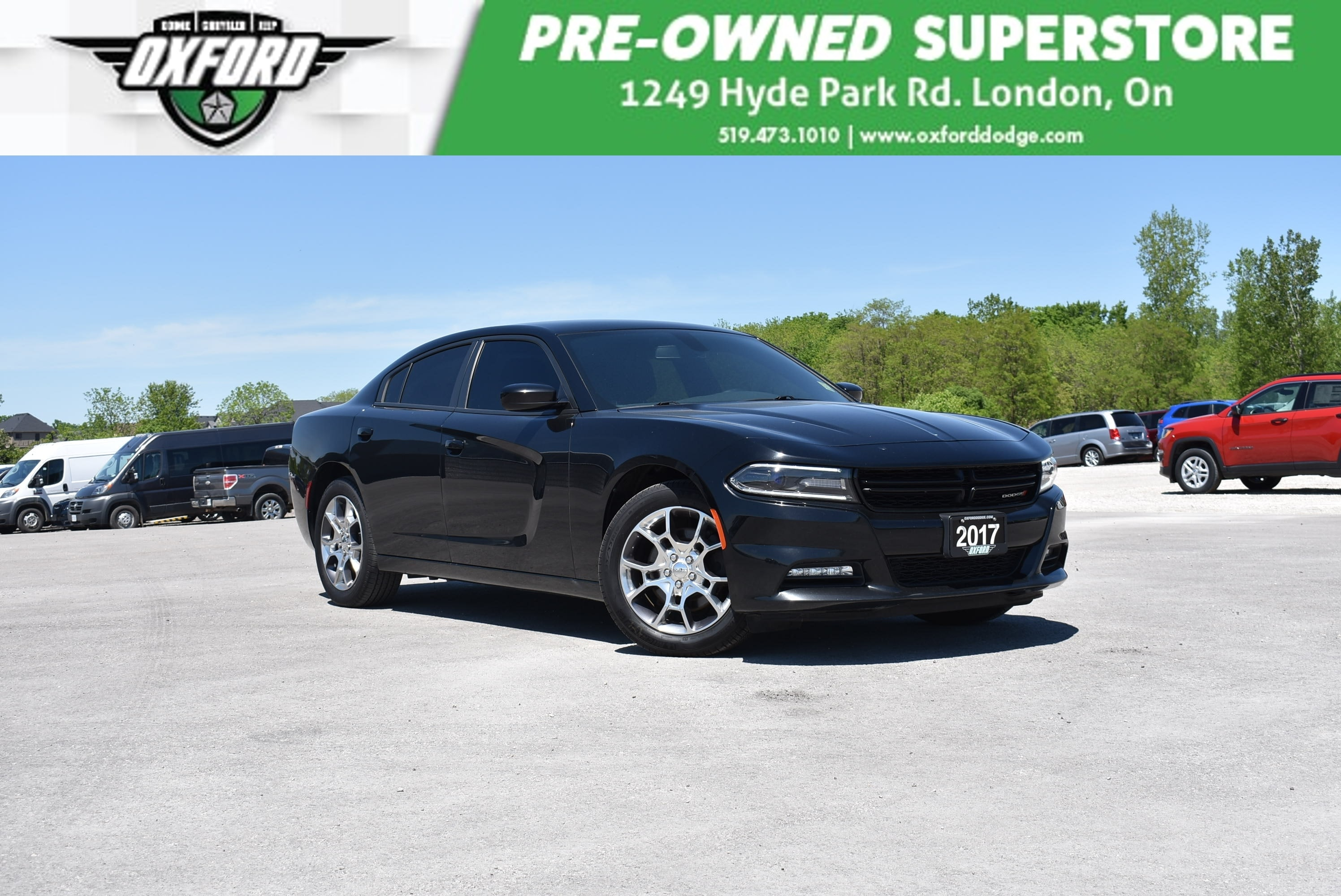 used 2017 Dodge Charger car, priced at $23,988