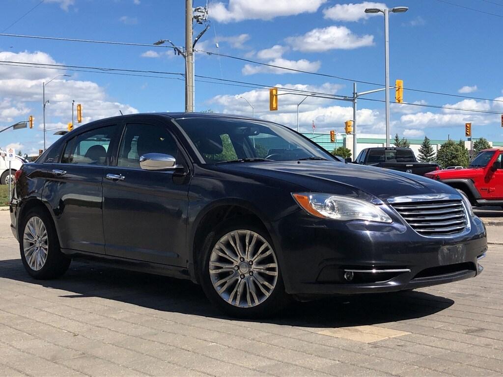 used 2011 Chrysler 200 car, priced at $7,875