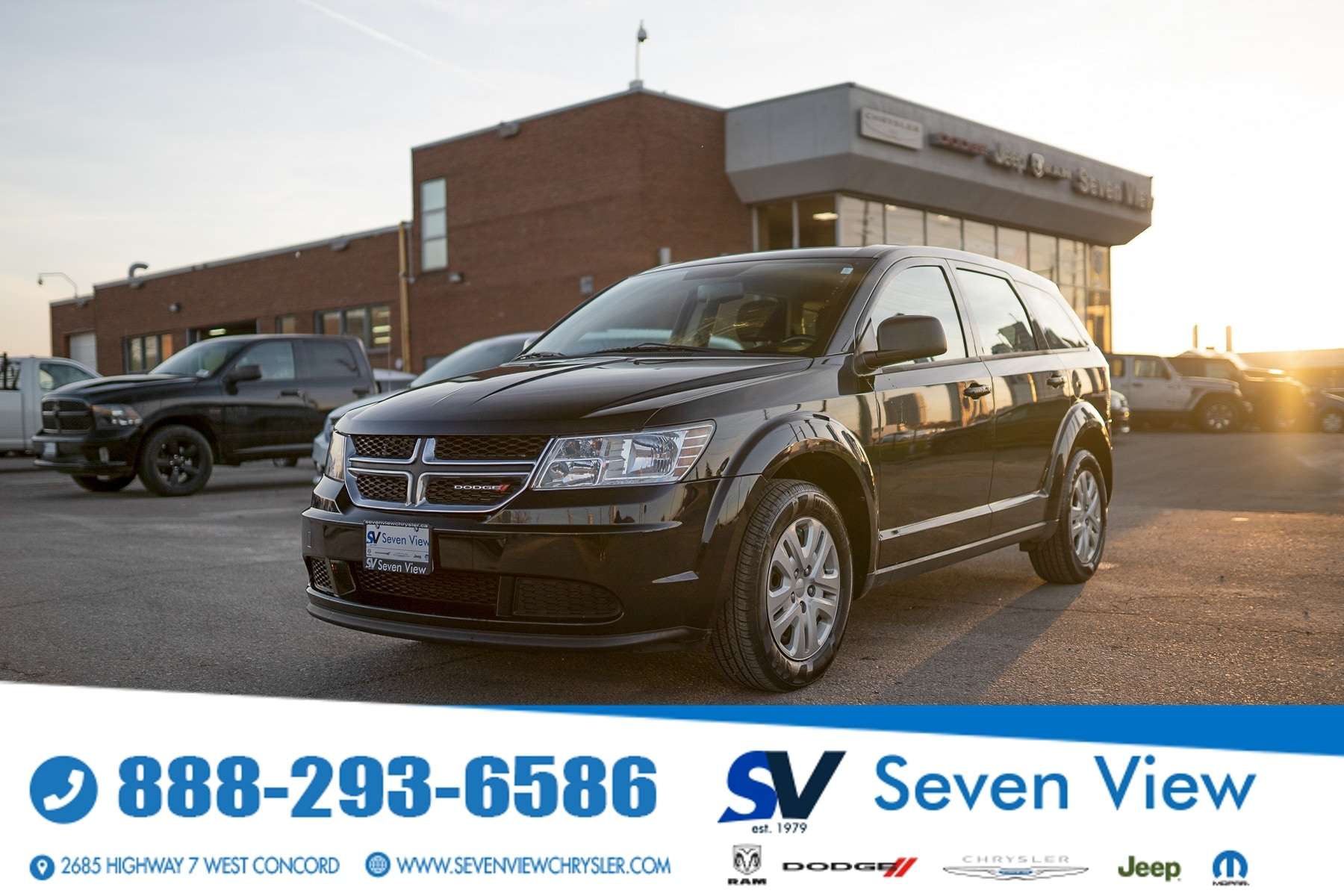 used 2016 Dodge Journey car, priced at $11,077