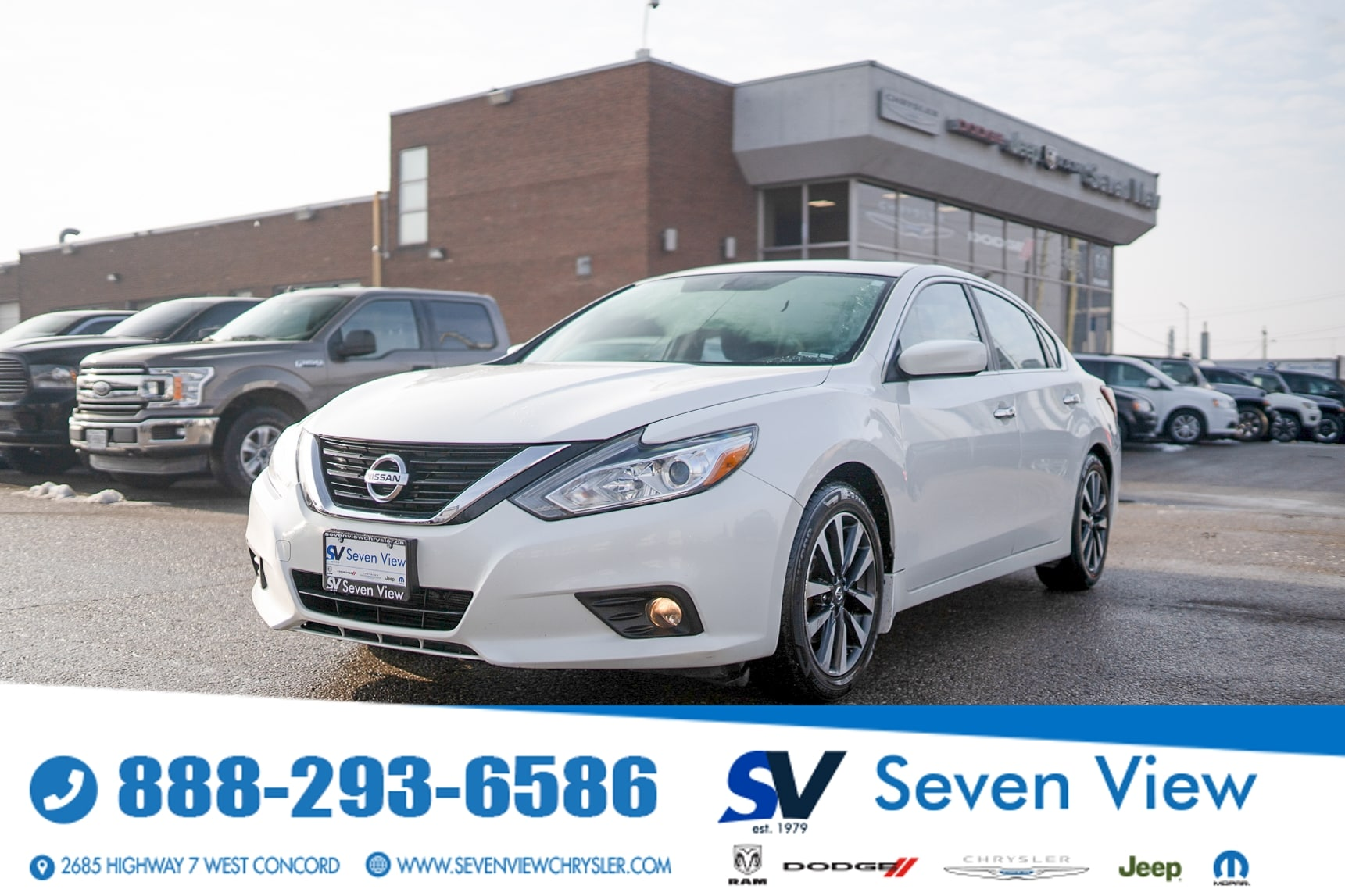 used 2016 Nissan Altima car, priced at $12,377