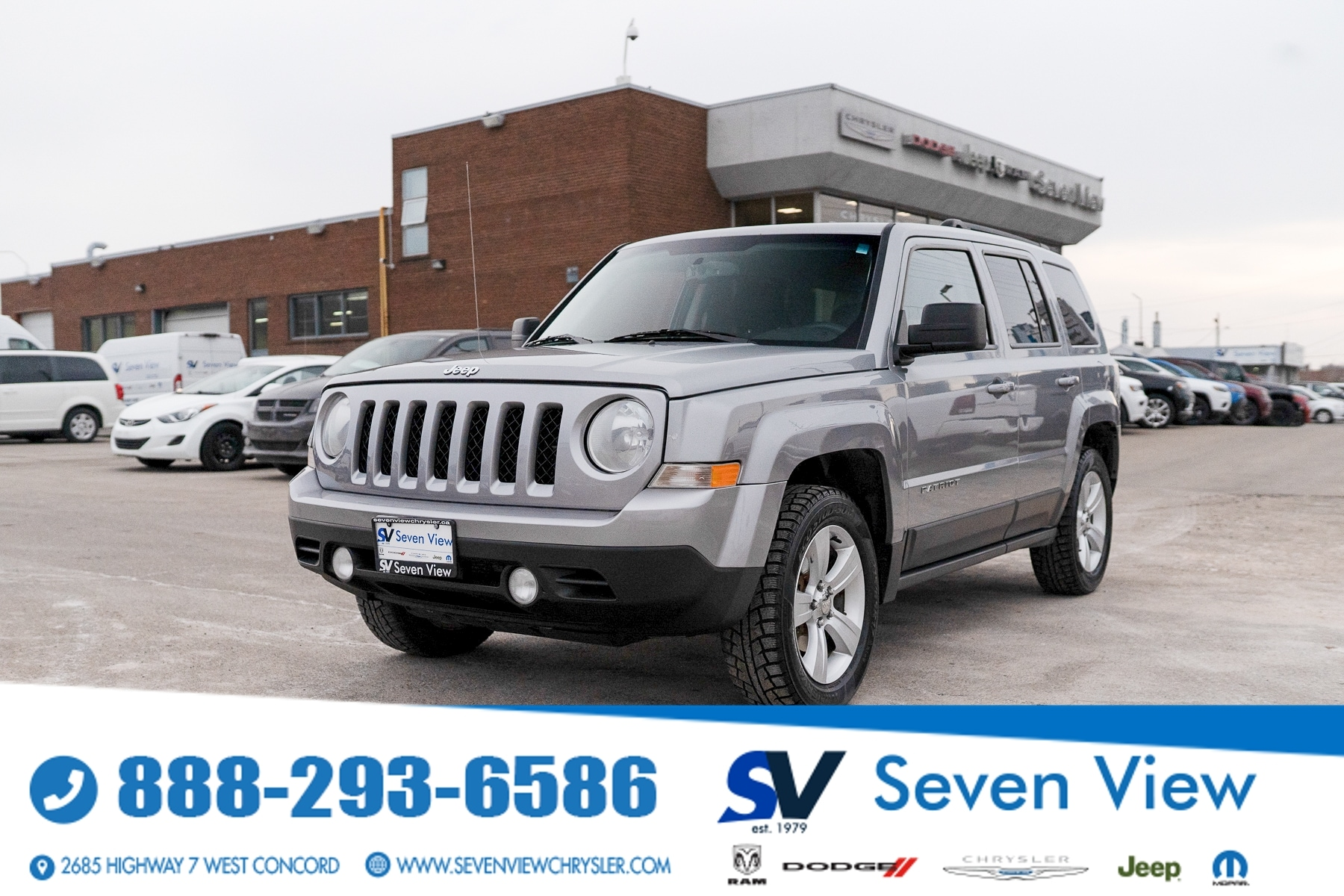 used 2015 Jeep Patriot car, priced at $9,577