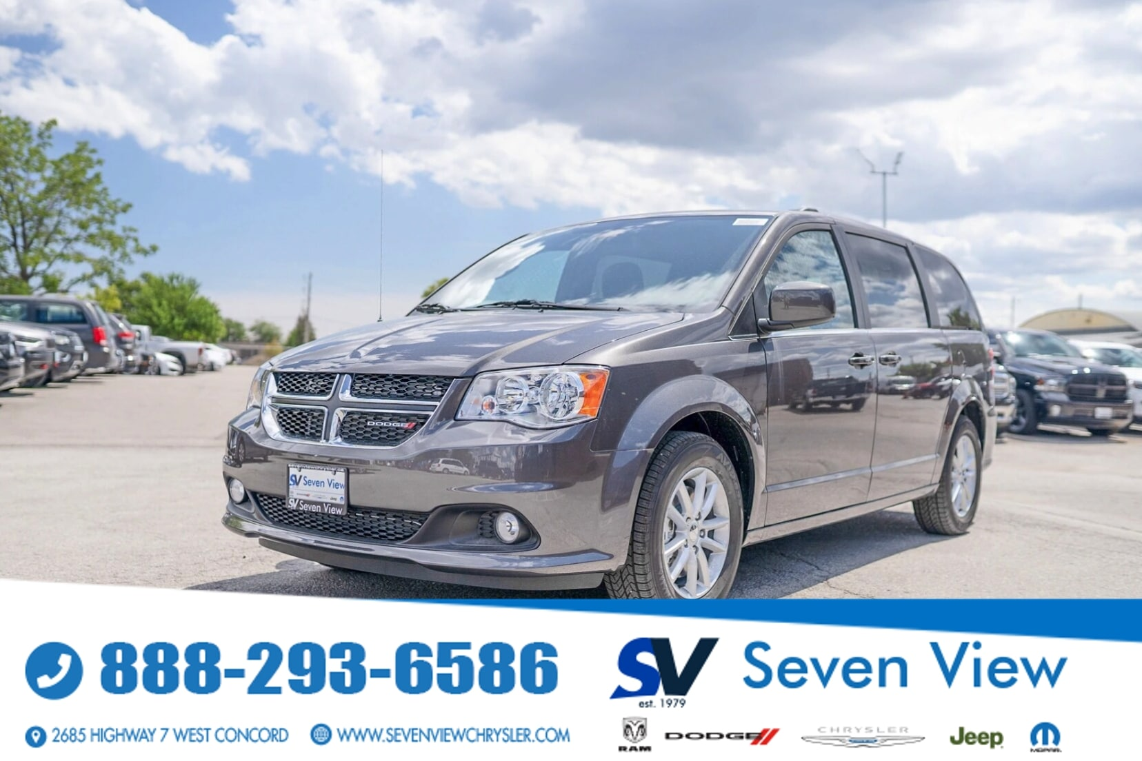 used 2020 Dodge Grand Caravan car, priced at $34,477
