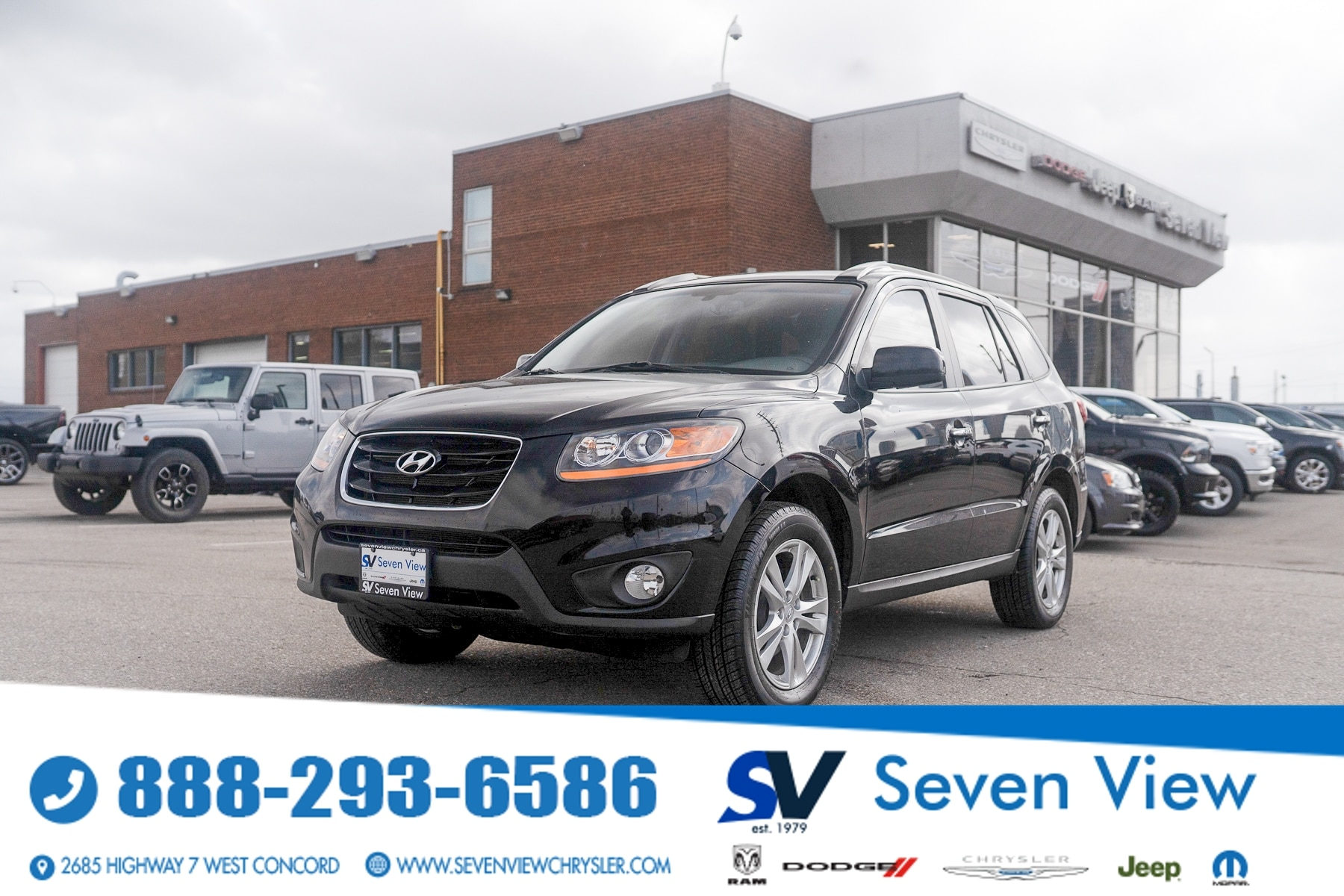 used 2011 Hyundai Santa Fe car, priced at $8,777